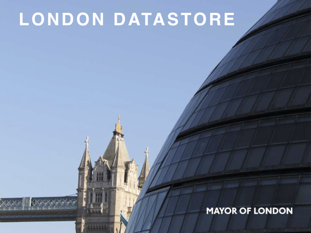 Datastore Presentation by Greater London Authority