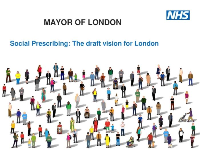 Presentation from the social prescribing consultation held at City Hall