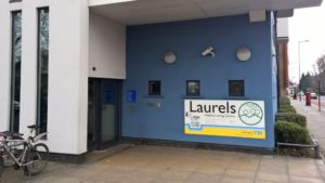 Bridge Renewal Trust are located at Laurels Healthy Living Centre with 4 NHS services.