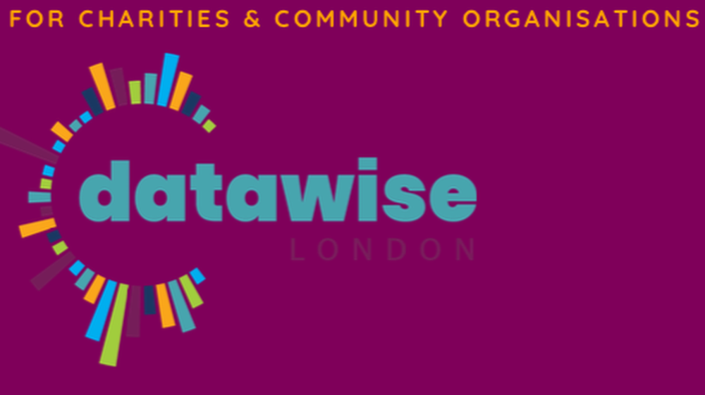 Datawise offers charities in London training, advice and help with data challenges