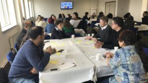 ONS, HEAR and London Plus held a community engagement event in Tower Hamlets to discuss the 2021 census