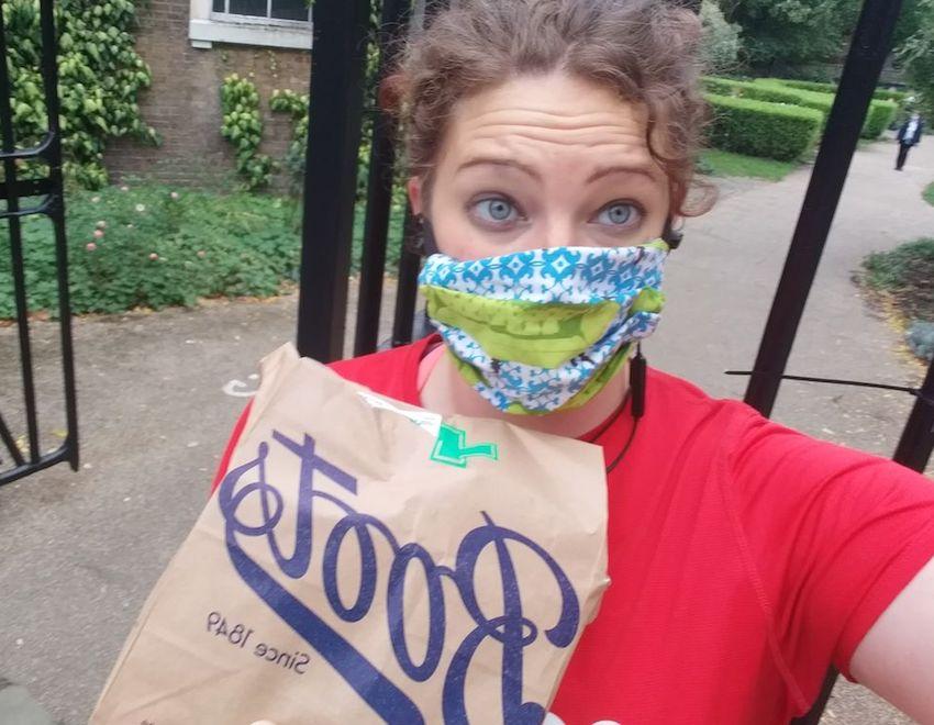 Abi Perrin a GoodGym Camden Volunteer