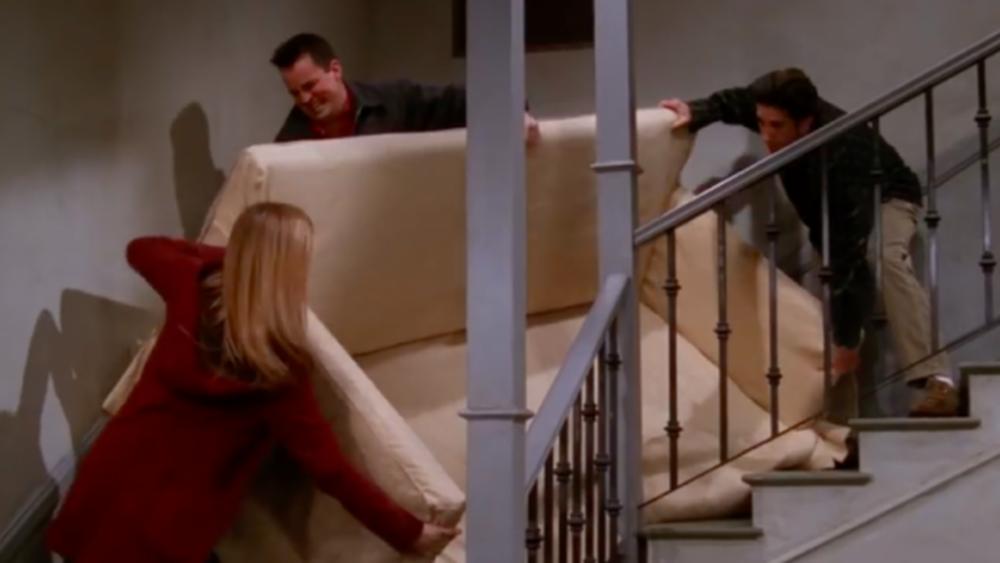 Image of the 'friends' pivot scene