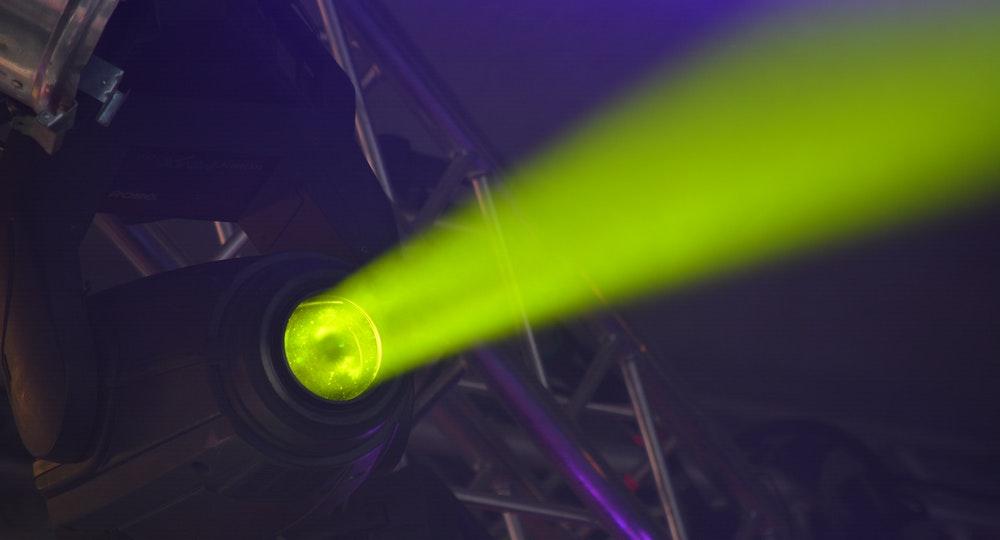 Green Spotlight